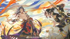 Game Character, Character Concept, Character Design, Asian Tattoos, Handsome Anime, Fantasy, Manga Games, Pretty Art, Chinese Art