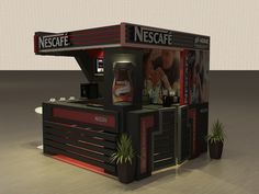 NESCAFE kiosk by Mostafa Shehatta, via Behance