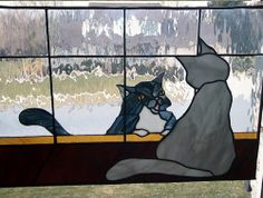 Stained glass art from Wiggle Glass