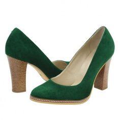 Pantofi casual dama Clarette verzi Peeps, Peep Toe, Casual, Shoes, Fashion, Moda, Zapatos, Shoes Outlet, Fashion Styles