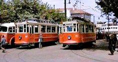 1960′lar Kadıköy Tramvay durağı