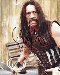 Danny Trejo, Actor, Movie Star, Signed, Autographed, 8X10 Photo, a COA Will Be Included