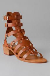 Chinese Laundry Shoes, Take Down Gladiator Sandal in Cognac- Francesca's <3
