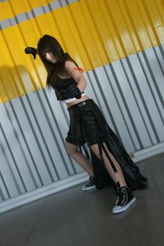 Videogame: Final Fantasy VII.  Character:Tifa.  Cosplayer: Lexi Farron Strife. From: France. Photo: A Reno 2011.