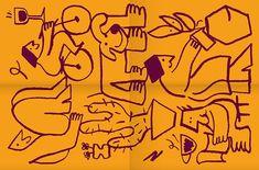 Domo Neighbourhood Apartments - Brand Identity on Behance Branding, Brand Identity, Graphic Art, Graphic Design, Old Port, Illustration Sketches, Illustrations, Poster S, Tee Shirt Designs