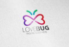 Love Bug Logo by Samedia Co. on Creative Market