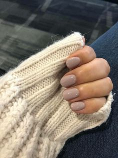 143 trendiest fall nail colors -page 13 > Homemytri.Com 143 trendiest fall nail colors -page 13 > Homemytri. Sns Nails Colors, Neutral Nails, Nude Nails, Beige Nails, Faux Ongles Gel, Fall Gel Nails, Simple Gel Nails, Fall Manicure, Ten Nails