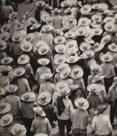 Workers Parade - Mexico 1926 - by Tina Modotti