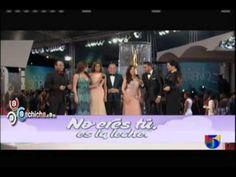 Las Presentadoras de Extremo a Extremo en la Alfombra Roja Soberano #Soberano2013 #Video - Cachicha.com