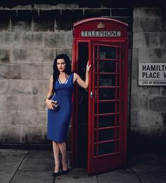 Watch Magazine Photos: Pauley Perrette in London