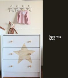 Ideas para personalizar la cómoda Rast de Ikea. ~ The Little Club