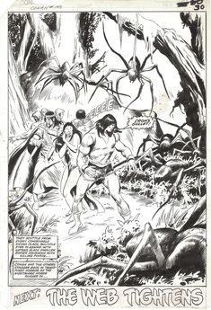 Conan the Barbarian #140 pg 30 by John Buscema, in Andrew Clarke's CONAN - Conan the Barbarian - Marvel - Issues 100 to 275 Comic Art Gallery Room - 962821