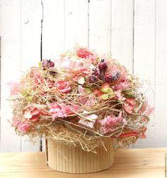 Купить Композиция для интерьера - розовый, композиция из цветов, композиция для интерьера, стабилизированные цветы, подарок
