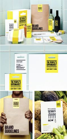 The People鈥檚 Supermarket branding