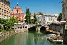 slovenia-lubliana ~ Has such a nice vibe; what a wonderful city.
