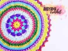 Reciclando con Erika : Mandala tamaño grande a crochet vídeo tutorial