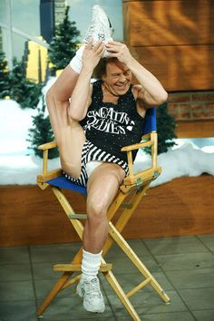 Laugh all you want. Can you do this at 60 something?...in dolphin shorts. Richard Simmons...nuff said!!!
