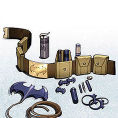 What's on batman's utility belt