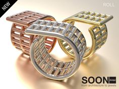 SOON DESIGN JEWELS - NEW ROLL RING - https://www.shapeways.com/product/4R3URJDEM/roll-ring-6-5