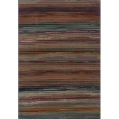 Shop for Multicolored Stripe Area Rug (3'10 x 5'5). Get free shipping at Overstock.com - Your Online Home Decor Outlet Store! Get 5% in rewards with Club O! - 15430413