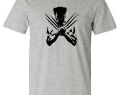 "Wolverine shirt ""Wolverine Logo"" Mens Tee Athletic Fit"