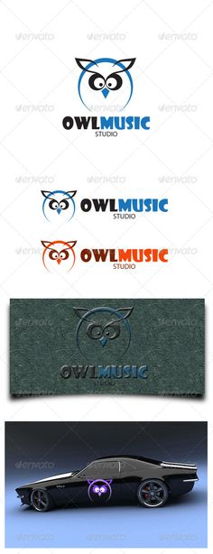 Buy Owl Music Studio by mangga on GraphicRiver. Owl Music Studio Logo Template: - Ai and EPS _ CMYK and RGB - 300 dpi - Easy customize and Editable - Used free Font:.