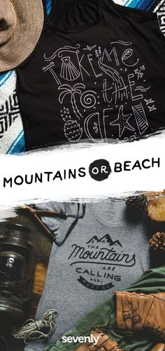 Which outdoor destination fuels your wanderlust... the MOUNTAINS or the BEACH?