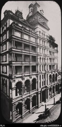 Things to Do and See in Sydney Australia Australia Hotels, Sydney Australia, Lost Hotel, Haymarket Hotel, Historical Images, Architecture Old, Beautiful Buildings, Hotels And Resorts, Old Photos
