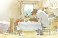 """""""Ernest et Celestine"""" an animated movie based on the children's books, stayed true to Monique Martin's art. Buddy Movie, Mike Mitchell, Totoro, Ghibli, Dreamworks, Oscar Cartoon, Ernest Et Celestine, Never Grow Up, Moving Pictures"""