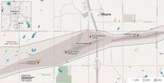 Tornado devastates Moore, Oklahoma