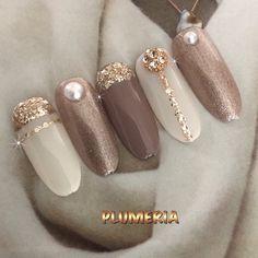 Manicure Nail Designs, Classy Nail Designs, Pretty Nail Designs, Nail Manicure, Classy Nails, Stylish Nails, Cute Nails, Foil Nail Art, Nail Art Diy