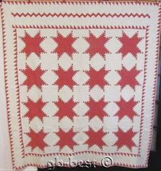 OUTSTANDING c 1880s Feathered Star Antique QUILT finest quilting TINY pcs | eBay