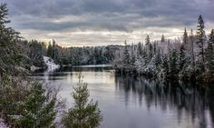 WInter River by Lee Bodson on River, Mountains, Nature, Outdoor, Outdoors, Naturaleza, Rivers, Outdoor Games, Off Grid