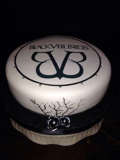 Black Veil Brides Cake Need this for my birthday