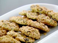 Raisin pecan oatmeal cookies! These are my new favorite cookies. (Thanks, Ina!)
