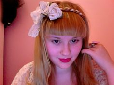 classic lolita hairstyle tutorial
