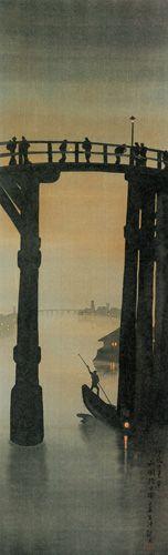 葛飾応為《吉原格子先の図》