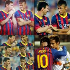 #like #like4like #followme #followback #Follow4follow #Follow #swag #Neymarzetes #neymarfans #messi #FCBarcelona #Barca Lionel Messi And Neymar da silva santos junior My's Idols L' FCBarcelona *-*