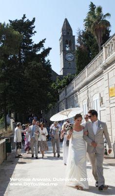 Destination wedding on Island of Lopud, Croatia