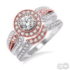 Love how feminine this ring looks!  D.J. Bitzan Collection 26381