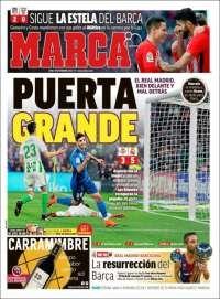 2018-02-19 Periódico Marca (España). Periódicos de España. Toda la prensa de hoy. Kiosko.net