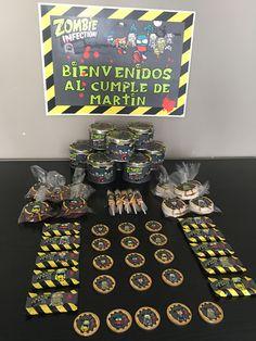Feli 6 añitos Zombie Disney, 5th Birthday, Vs, Cake, Mario Bros, Party, Desserts, Food, Celebration