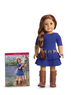 American Girl of the Year 2013 Saige Copeland - Teaching kids to trade up with their least liked toys or the fad from 2 years ago that was a must-have then for an expensive collectible is profitable on so many levels.