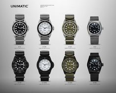 Introducing: The Unimatic 2017 Collection (Exclusive)