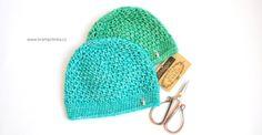 Návody háčkování Krampolinka · Návody a videa na háčkování Crochet Mask, Free Crochet, Ravelry, Knitted Hats, Baby Shoes, Crochet Patterns, Winter Hats, Stone, Knitting