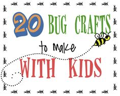 Perfect for summer! 20 bug crafts to make - Liz on Call