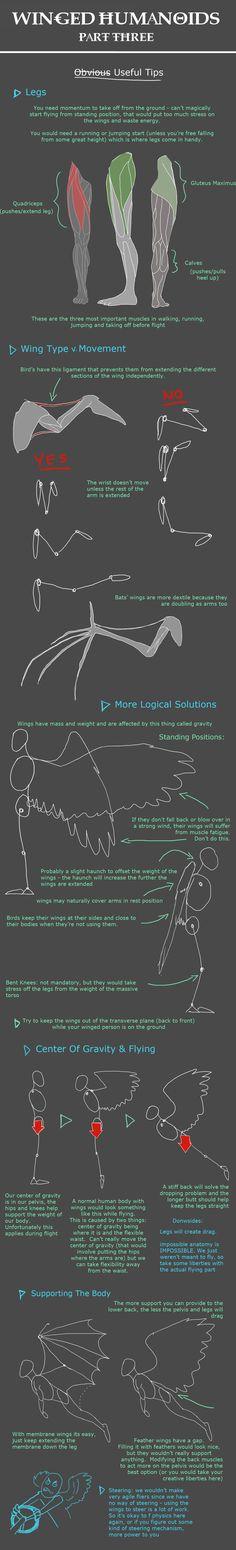 Winged Humanoid: Part 3 by mernolan.deviantart.com on @deviantART