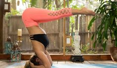 Headstand Yoga Flow Video to Increase Confidence + Strength (Intermediate Level) - Pin now, get upside down now!
