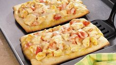 Spicy buffalo chicken meets pizza for a doubly delicious meal. With refrigerated pizza crust, assembly is quick and easy.
