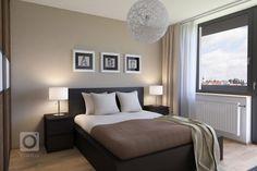 peinture marron chambre - Recherche Google   Idées pour la maison en ...
